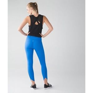 Lululemon Real Quick Tight Pockets Blue 8